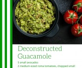 Deconstructed Guacamole